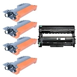 Compatible Brother 630/660-AVP [Value Pack] 1-Drum, 4 Toner Cartridges
