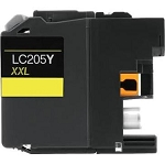 Compatible Brother© LC205Y Yellow Ink Cartridge