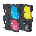 Compatible Brother© LC61XL-AVP [Value Pack] B,C,M,Y Ink Cartridges