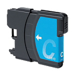 Compatible Brother© LC61XLC Cyan Ink Cartridge