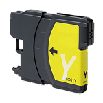 Compatible Brother© LC61XLY Yellow Ink Cartridge