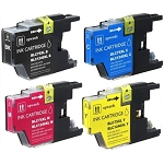 Compatible Brother© LC75XL-AVP [Value Pack] B,C,M,Y Ink Cartridges