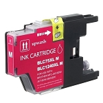 Compatible Brother© LC75XLM Magenta Ink Cartridge
