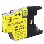 Compatible Brother© LC75XLY Yellow Ink Cartridge