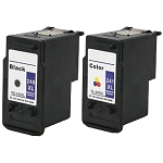 Remanufactured Canon 240XL/241XL-AVP [Value Pack] Ink Cartridges