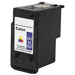 Remanufactured Canon 241XL Tri-Color Ink Cartridge