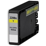 Compatible Canon 2200XL Yellow Ink Cartridge