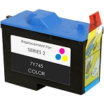Remanufactured Dell© 7Y745 Color Ink Cartridge
