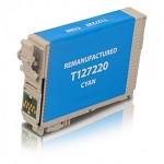 Remanufactured Epson T127220 [127] Cyan Ink Cartridge