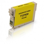 Remanufactured Epson T127420 [127] Yellow Ink Cartridge