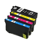Remanufactured Epson 802XL-AVP [Value Pack] B,C,M,Y Ink Cartridges