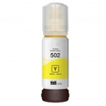 Compatible Epson T502420-S [T502] Yellow Ink Bottle