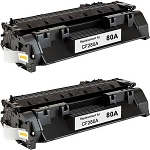 Compatible Toner Cartridge for HP© 80A [CF280A]-2PK