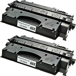Compatible Toner Cartridge for HP© 80X [CF280X]-2PK