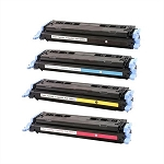 Compatible for HP 124A-AVP [Value Pack] B,C,M,Y Toner Cartridges