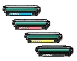 Compatible for HP 504A-AVP [Value Pack] B,C,M,Y Toner Cartridges