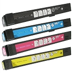 Compatible for HP 824A-AVP [Value Pack] B,C,M,Y Toner Cartridges