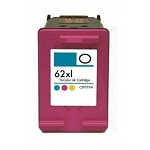 Remanufactured HP C2P07AN [62XL] Tri-color Ink Cartridge