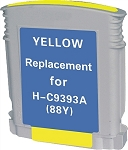 Compatible Ink Cartridge for HP© C9393AN [88XL] Yellow