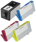 Remanufactured HP 920XL-AVP [Value Pack] B,C,M,Y Ink Cartridges