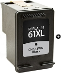 Remanufactured Ink Cartridge for HP© CH563WN [61XL] Black