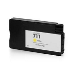 Remanufactured 711 Yellow Ink for HP CZ132A