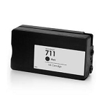 Remanufactured 711 Black Ink for HP CZ133A