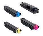 Compatible Kyocera TK-5142-AVP [Value Pack] B,C,M,Y Toner Cartridges
