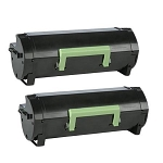 Compatible Lexmark 56F1H00 High Yield Toner Cartridge [2PK]