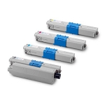 Compatible Okidata 310-AVP [Value Pack] B,C,M,Y Toner Cartridges
