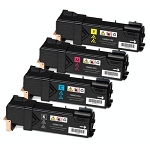 Compatible Xerox 6500-AVP [Value Pack] B,C,M,Y Toner Cartridges