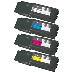 Compatible Xerox 6600-AVP [Value Pack] B,C,M,Y Toner Cartridges