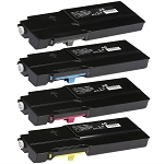 Compatible Xerox C400/C405-AVP [Value Pack] B,C,M,Y Toner Cartridges