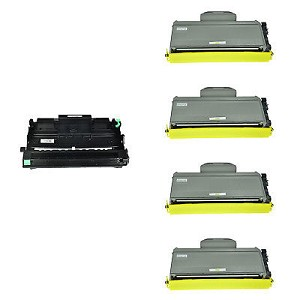 Compatible Brother 360-AVP [Value Pack] 1-Drum, 4 Toner Cartridges