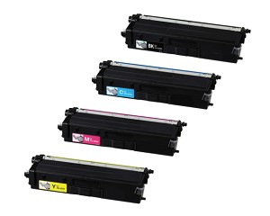Compatible Brother© TN433-AVP [Value Pack] B,C,M,Y High Yield Toner Cartridges