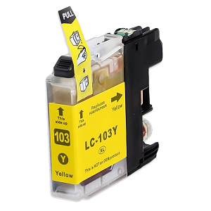 Compatible Brother© LC103 Yellow Ink Cartridge