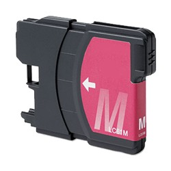 Compatible Brother© LC61XLM Magenta Ink Cartridge