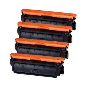 Compatible Canon 040H-AVP [Value Pack] B,C,M,Y Toner Cartridges