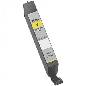Remanufactured Canon 281XXL Yellow Ink Cartridge
