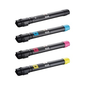Compatible Dell 7130-AVP [Value Pack] B,C,M,Y Toner Cartridges
