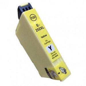 Remanufactured Epson T252XL420 [252XL] Yellow Ink Cartridge