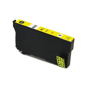 Remanufactured Epson T802XL420 [T802XL] Yellow Ink Cartridge
