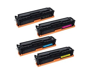 Compatible for HP 305A-AVP [Value Pack] B,C,M,Y Toner Cartridges