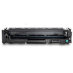 Compatible HP© Cyan Toner Cartridge for 414X [W2021X] (No Chip)