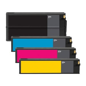 Remanufactured HP 976Y-AVP [Value Pack] B,C,M,Y Extra High Yield Toner Cartridges