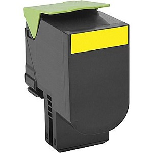 Compatible Lexmark 801HY [Yellow] Toner Cartridge