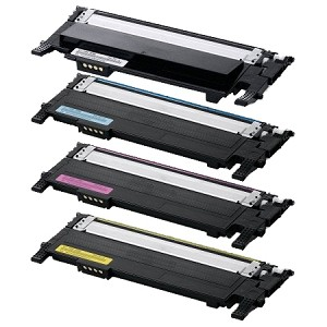Compatible Samsung 407-AVP [Value Pack] B,C,M,Y Toner Cartridges