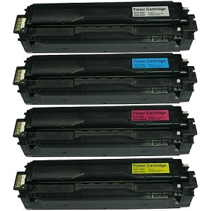 Compatible Samsung 504-AVP [Value Pack] B,C,M,Y Toner Cartridges